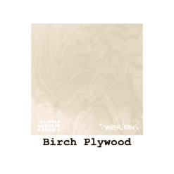 birch plywood swatch